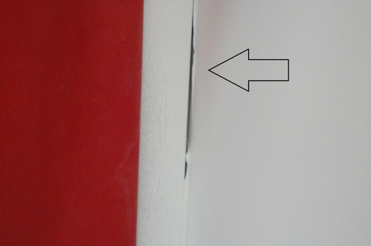 Dfauts Joints Dfectueux Entre Le Mur Et Le Chambranle De La Porte